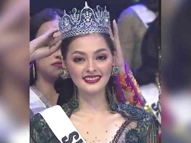 Jolene Marie Cholock Rotinsulu dari Sulut jadi Runner Up 1 Puteri Indonesia