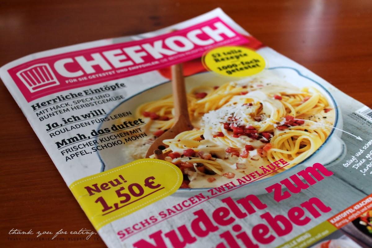 TYFE: Kürbissuppe aus dem neuen Chefkoch-Magazin + Gewinner!