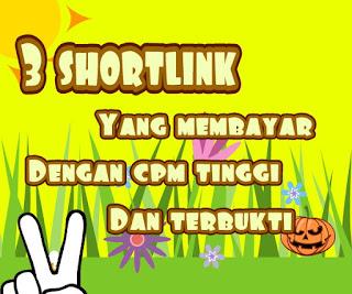 Shortlink cpm tinggi