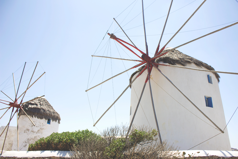 Beautiful Travel Architecture Building Photography | Mykonos, Greece Windmills