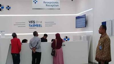 kantor vfs tasheel epiwalk jakarta untuk rekam biometrik visa saudi arabia umroh dan haji