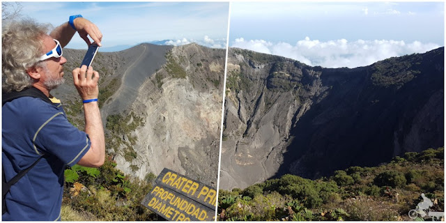 crater principal volcan irazu