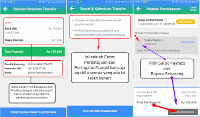 Cara Bayar Belanja Online Melalui Ponsel Menggunakan Payfazz