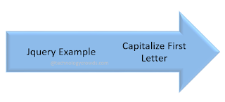 Jquery: Capitalize the First Letter of String Using Jquery