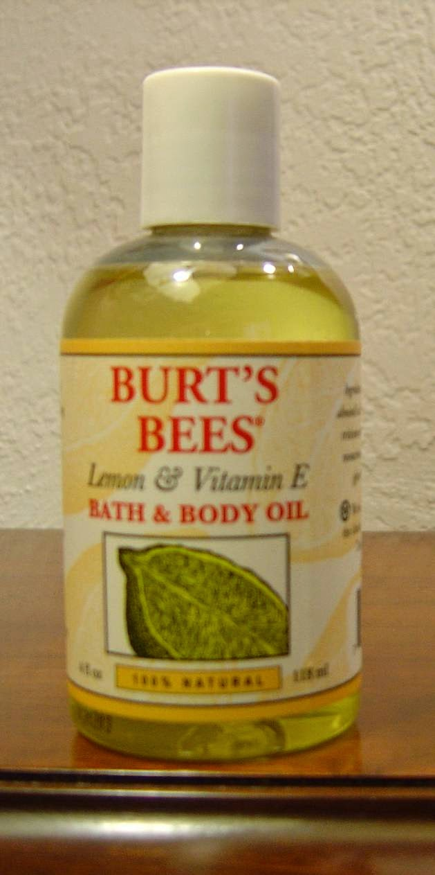 Burt's Bees Lemon & Vitamin E Bath & Body Oil.jpeg