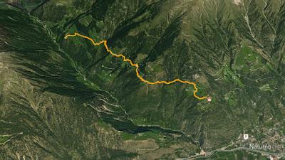 GPS katharinaberg monte santa caterina