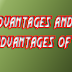 Advantages and Disadvantages of Law