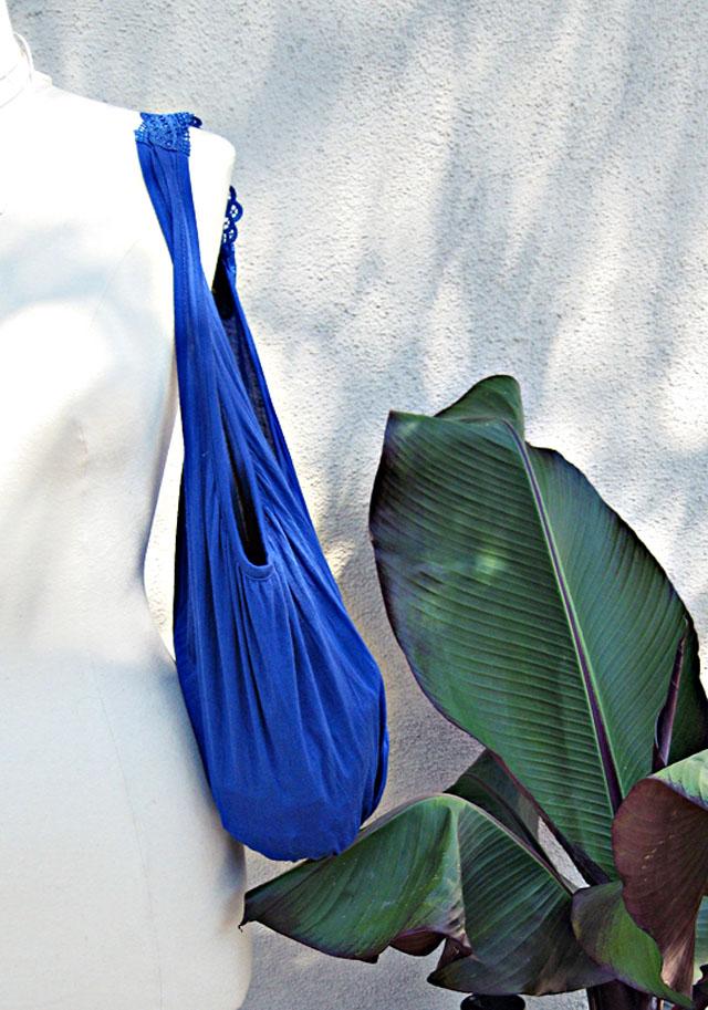 make a bag from a tank top DIY