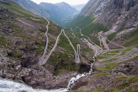 Trollstigen. Noruega