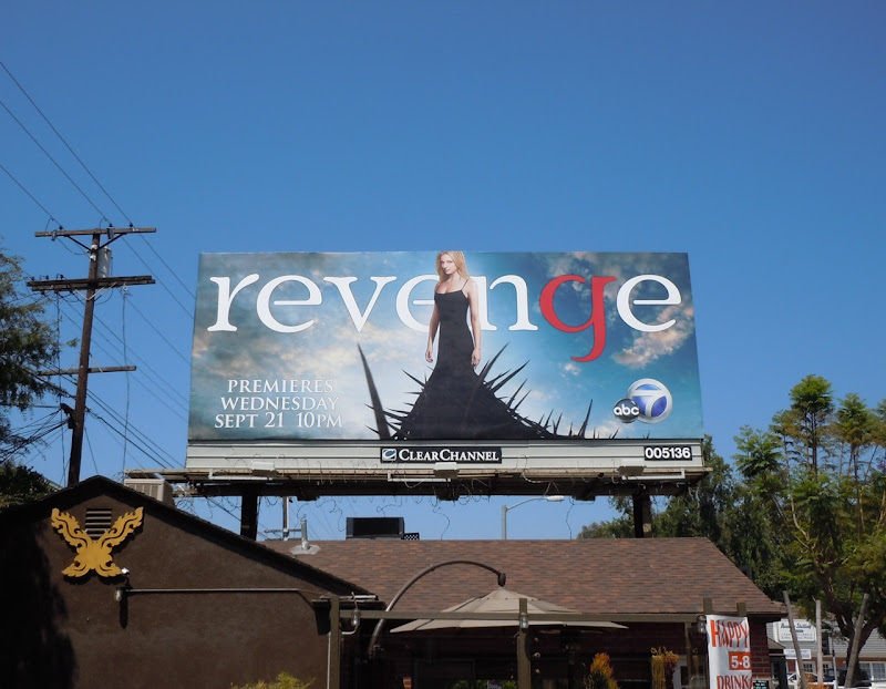 Revenge Emily Van Camp billboard