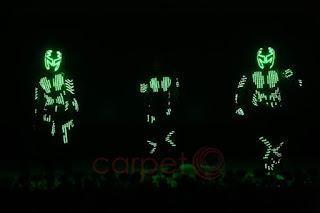LED Dance Performance at Karur Prem Mahal for Tracon Espl Silver Jubilee celebrations