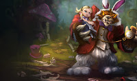 Annie in Wonderland League of Legends Wallpaper