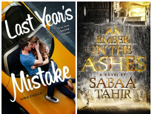 Speedy Reviews: Last Year's Mistake + An Ember in the Ashes