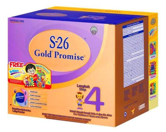 Susu s26 gold step 4 langkah empat