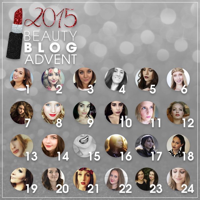 Beauty Blog Advent 2015 - Blogger Übersicht