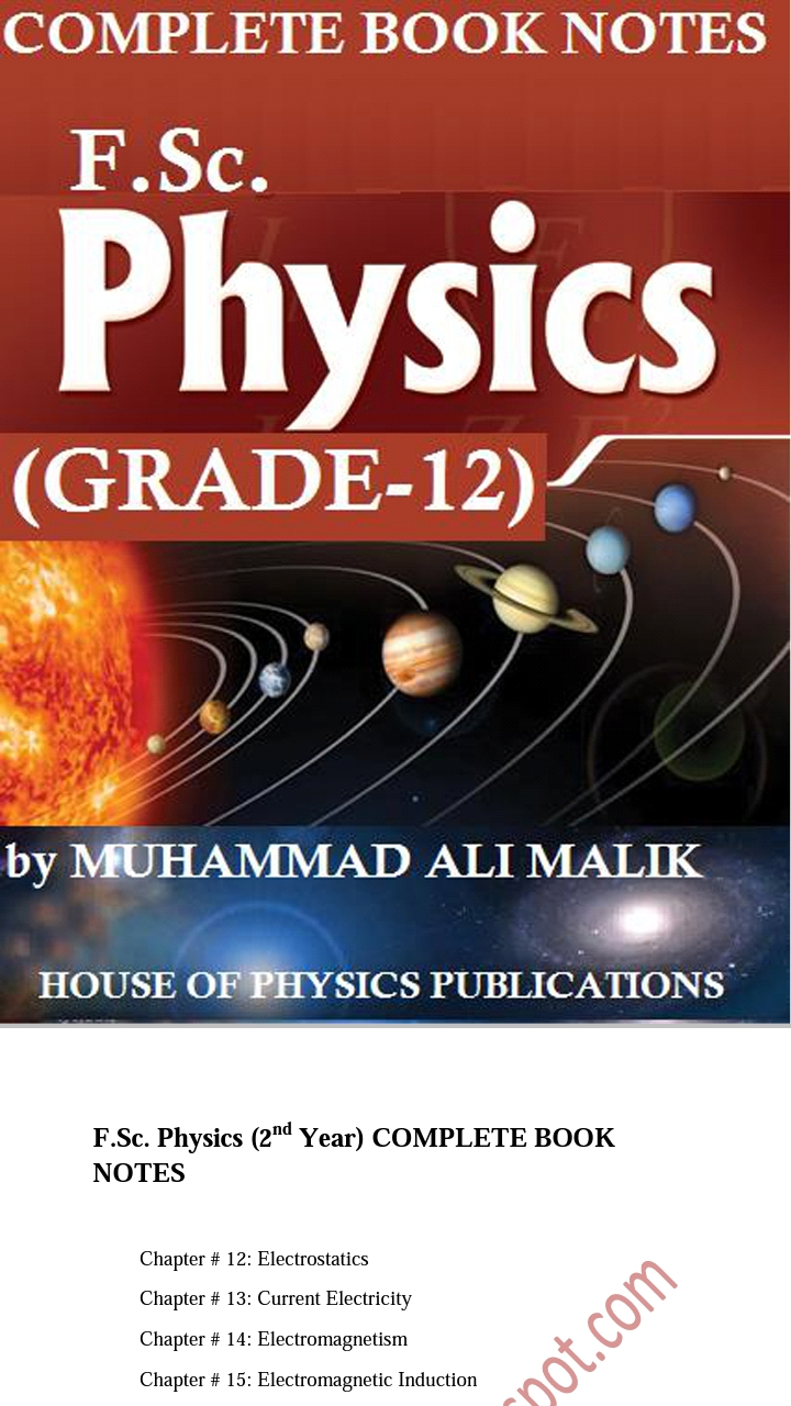 Physics sample paper class 12