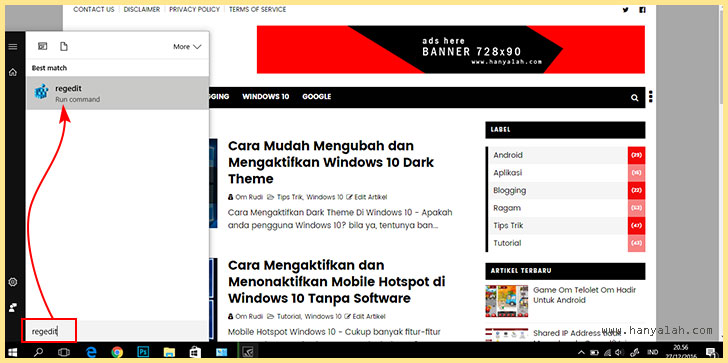 Volume Kontrol Klasik di Windows 10