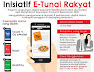 Cara Tuntut e-Tunai Rakyat RM30