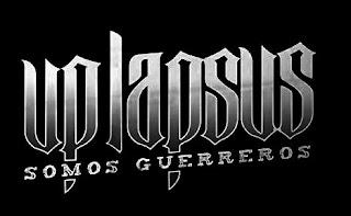 """Up Lapsus presenta su nuevo Album """"Somos Guerreros"""" LogoUpLapsusSomosGuerreros"""