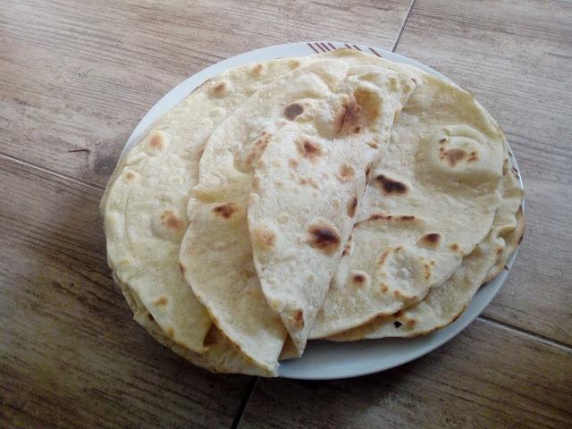 domowe tortille pszenne placki tortilli
