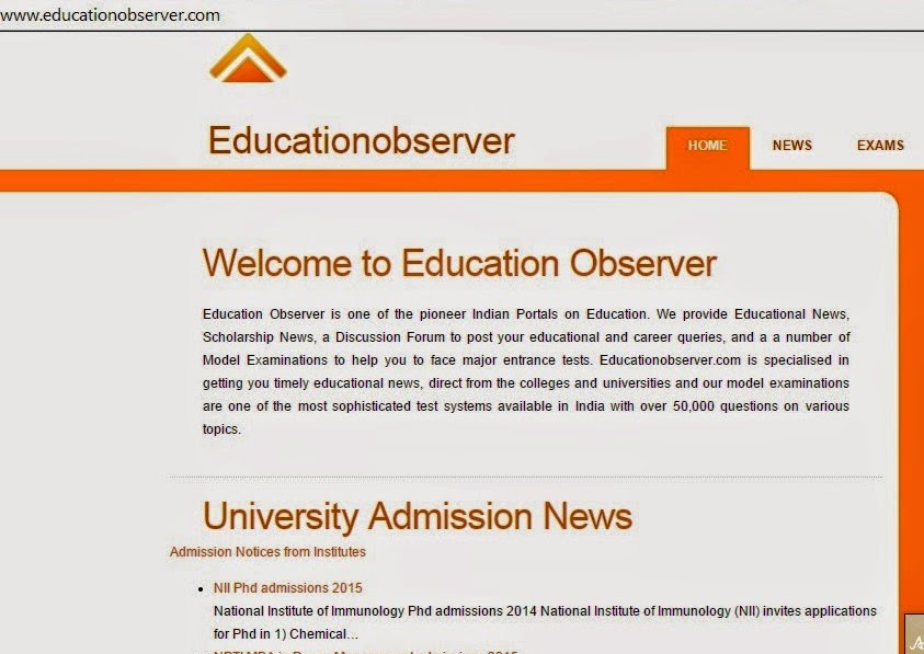 Education Observer Career Discussions link