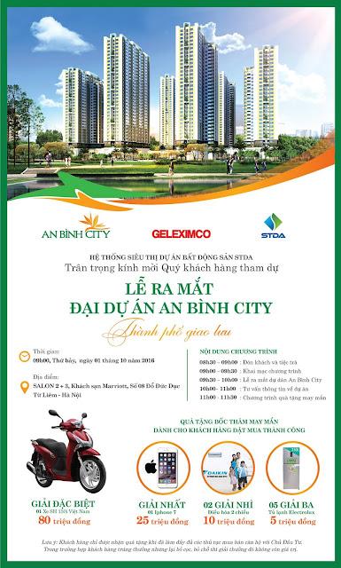 Lễ ra mắt dự án An Bình City