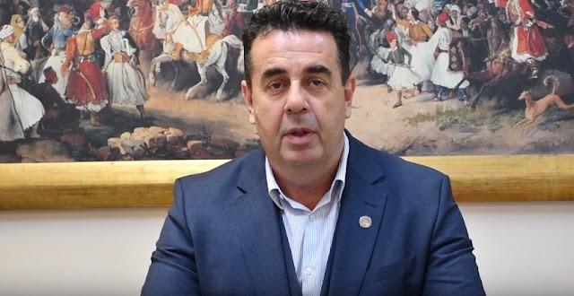 Πρωτοχρονιάτικο μήνυμα του Δημάρχου Ναυπλιέων Δημήτρη Κωστούρου για το 2019