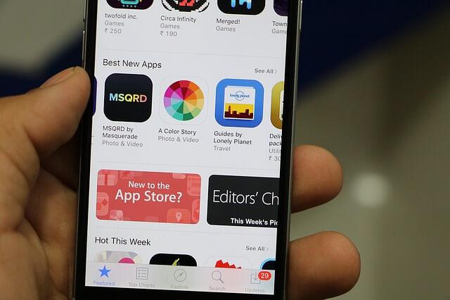 Aplikasi Ringtones di App Store pada iPhone