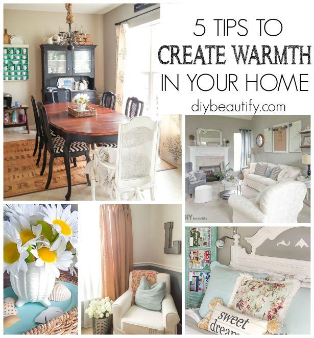 5 Tips to Make a House Feel like a Home | DIY beautify