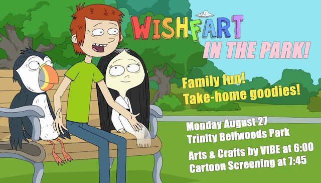 Wishfart in the Park! Arts & Crafts by VIBE and a Special Screening
