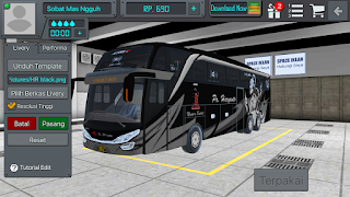 Riview Livery Bus BUSSID Golden Boy PO Haryanto SHD  + Link Download Livery Bus BUSSID Golden Boy PO Haryanto SHD