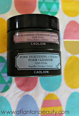 Caolion Hot and Cool Pore Foam Cleanser Duo
