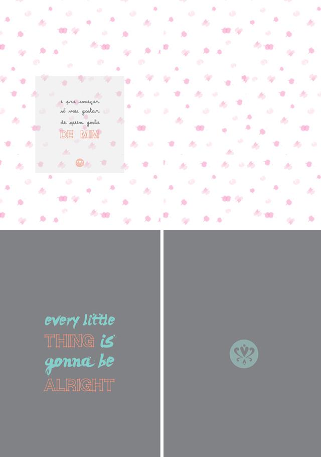 capas de caderno personalizado