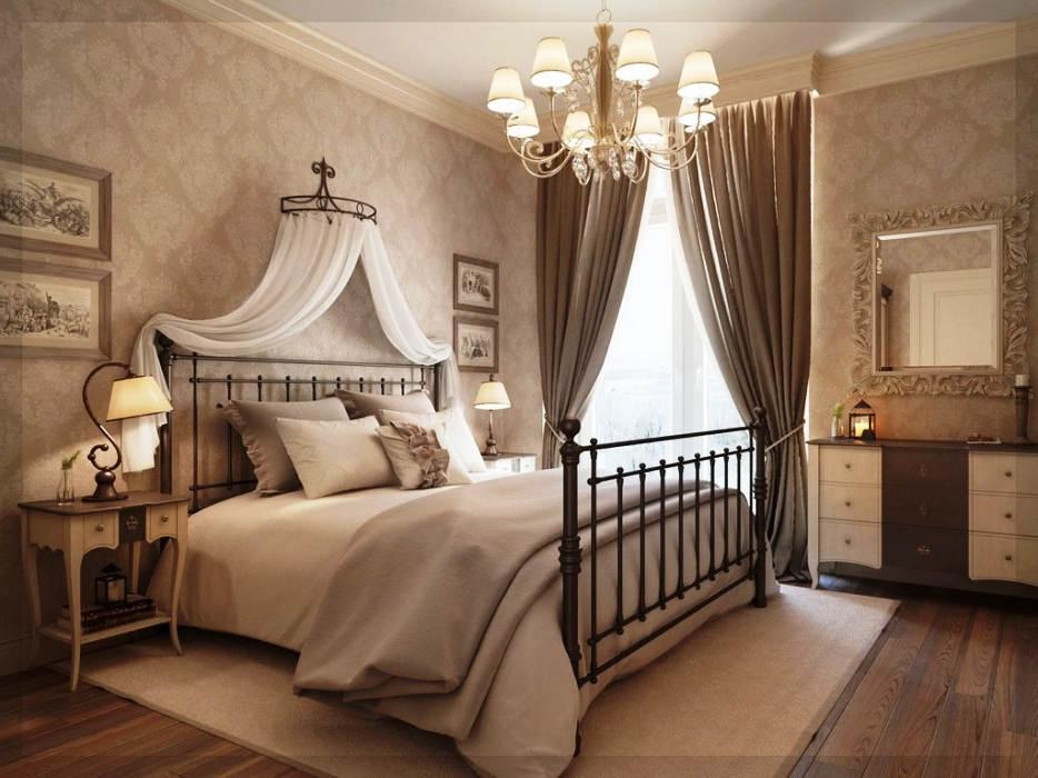 Contoh Lampu Kamar Tidur Utama yang Romantis