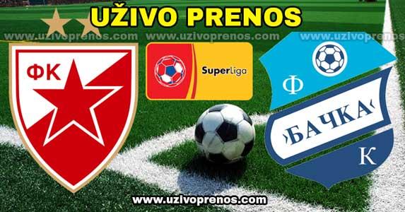 Superliga Srbije: Crvena Zvezda - Bačka Palanka  UŽIVO PRENOS
