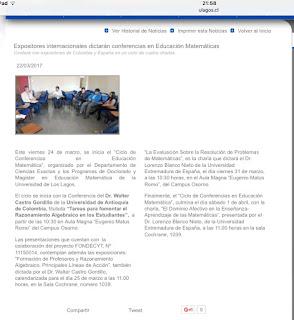 Universidad de Los lagos (Osorno-Chile) Loren zo J. Blanco