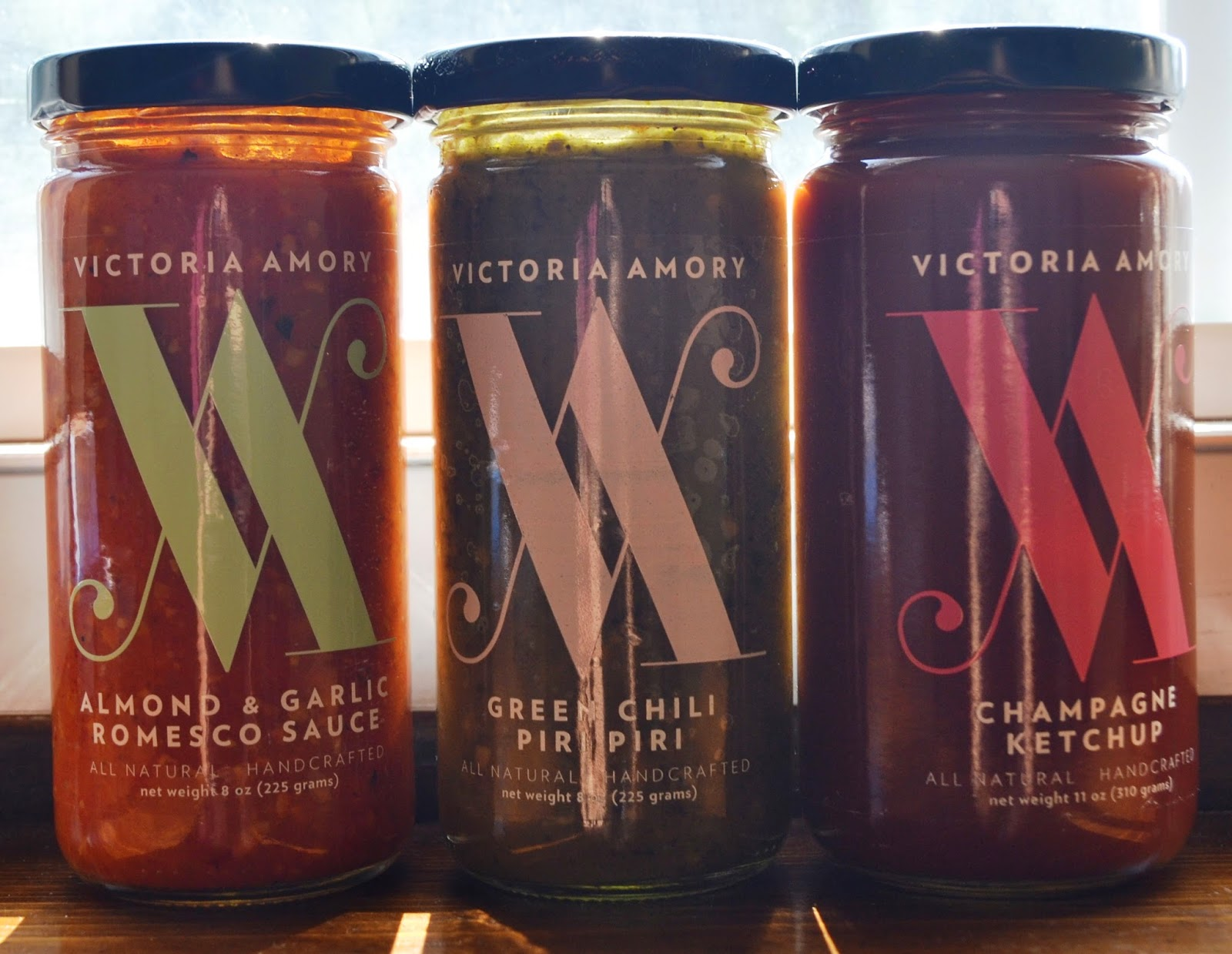 Victoria Amory Sauces