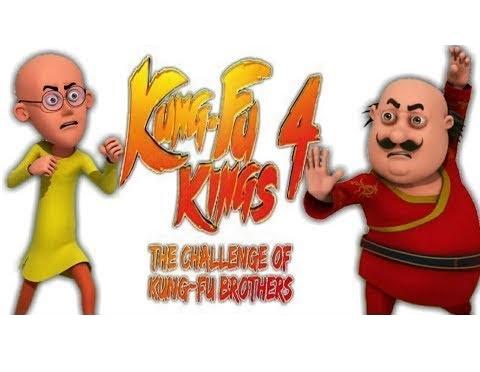 Motu Patlu Kung Fu Kings 4: The Challenge of Kung Fu Brothers 2018 Hindi 480p HDTV 300MB