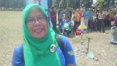 Herlina Buka Lomba Roket Air Tingkat SMP se-Bandarlampung