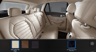 Nội thất Mercedes GLC 300 4MATIC 2017 màu Vàng Silk 225
