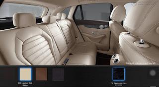 Nội thất Mercedes GLC 300 4MATIC 2018 màu Vàng Silk 225