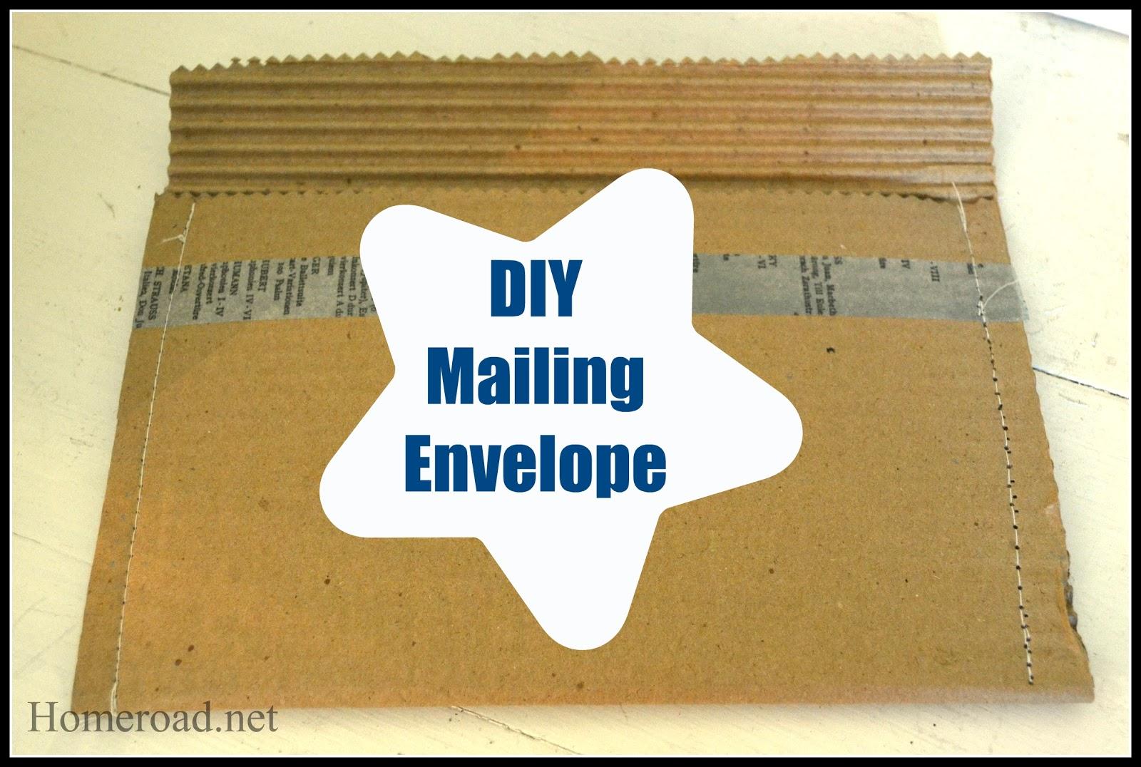 diy mailing envelope