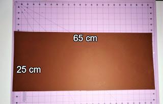 Medida de cartulina que necesitamos para nuestro álbum acordeón
