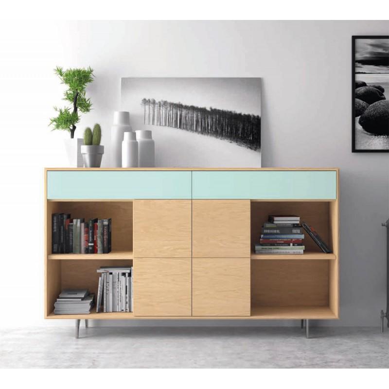 Arte h bitat tu tienda de muebles composici n vega 6 de for Muebles nogal yecla