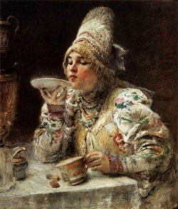 Подборка картин «Чаепитие в живописи»