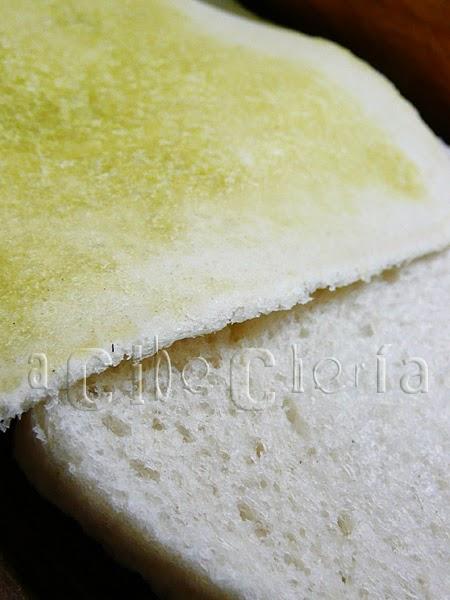El pan de molde bien estirado