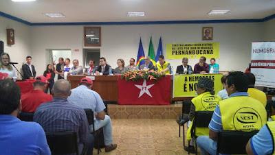 Goiana: Audiência publica na Câmara em prol da Hemobrás