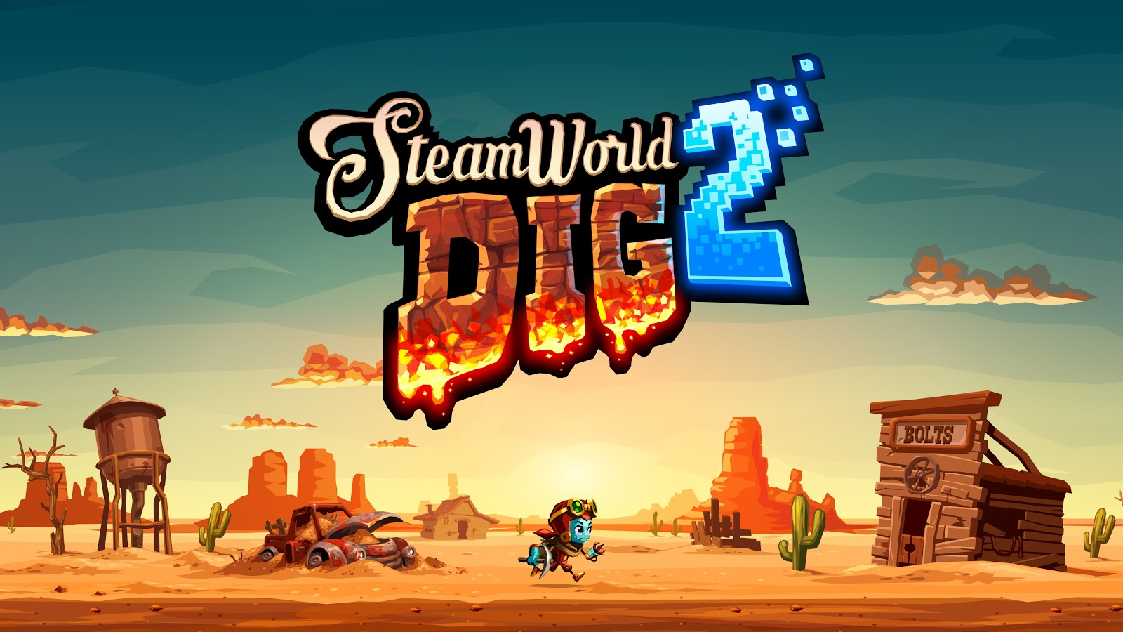 Steamworld Dig 2 Dig Dug Deeper The Low Priority Queue
