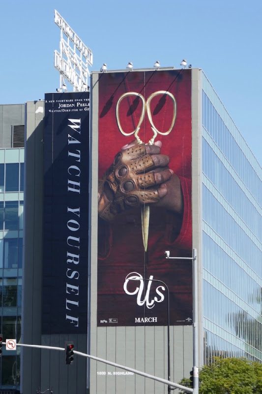 Giant Us film billboard