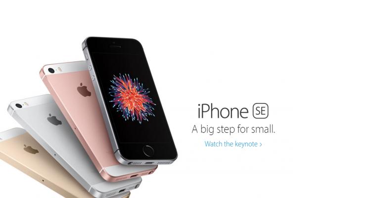 آبل تعلن رسميا عن هاتفها الذكي iPhone SE بسعر 399 دولار